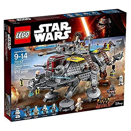Image of LEGO Star Wars Captain Rex's at-TE Star Wars Toy-75157