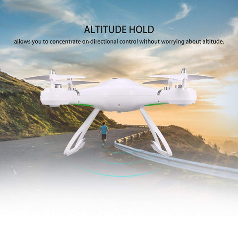 Image of RC Smart Drone Aircraft UAV with Altitude Hold Headless Mode