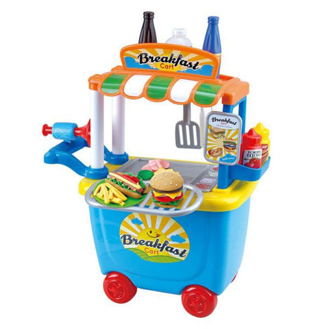 Play Go | Dough Cafe Cart Playset