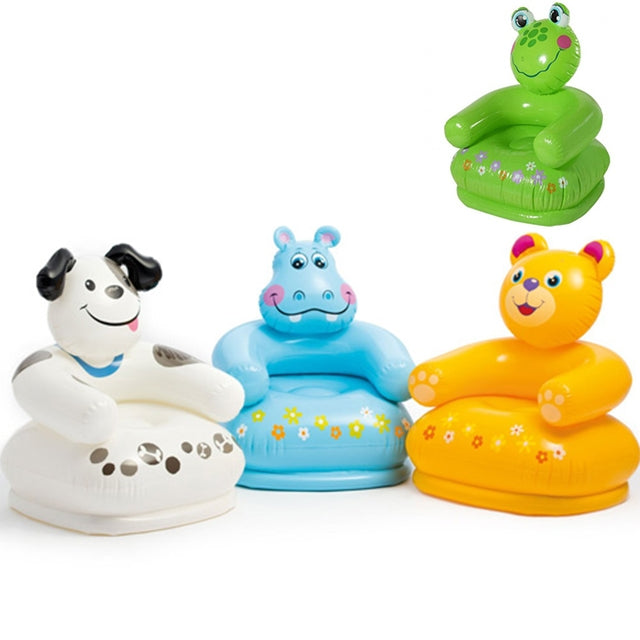 Buy Intex Plastic Inflatable Happy Animal Chair Assortment