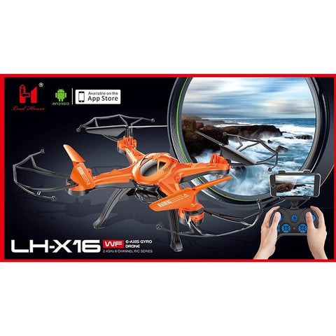 LHX16 Quadcopter Drone With Live View
