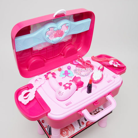 Girls Fashion Suitcase With Stand