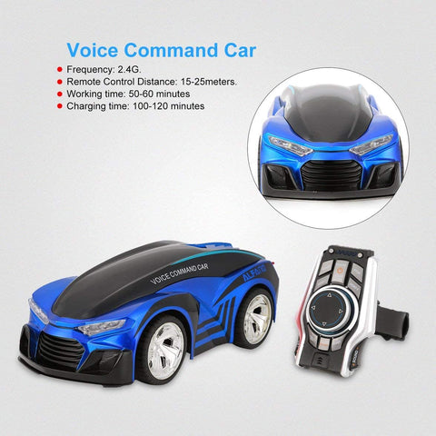 Rechargeable Voice Control Remote Control with Smart Watch