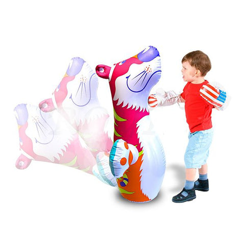 Image of Intex 3D Bop Bag Blow Up Inflatable Tiger-44669