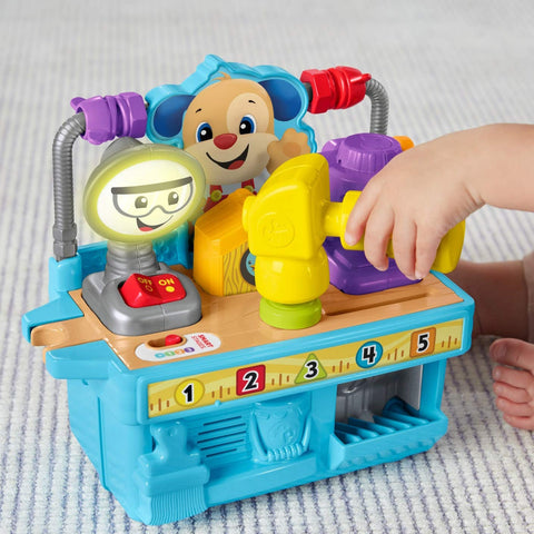 Image of Fisher Price Laugh and Learn Busy Learning Tool Bench--FYK55