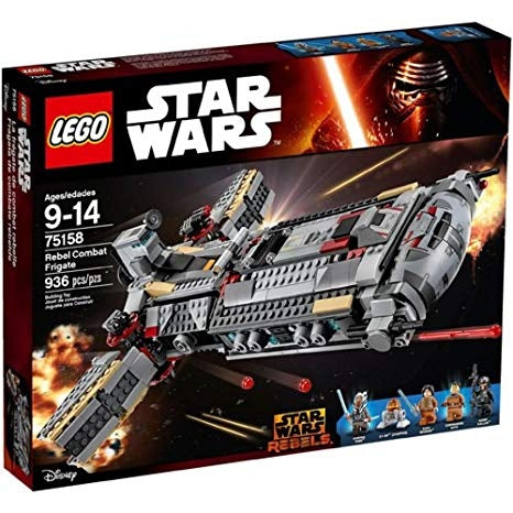Image of LEGO Star Wars Rebel Combat Frigate-75158