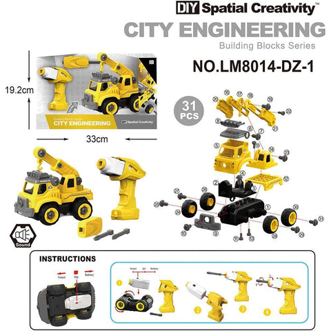 DIY Spatial Creativity - B/O City Engineering Truck