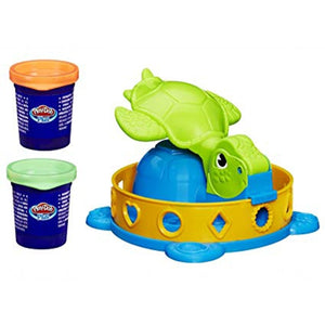 Hasbro Play-Doh Twist-n-Squish Turtle Playset--A0653