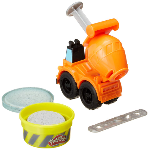 Image of Hasbro Play-Doh Wheels Mini Cement Truck