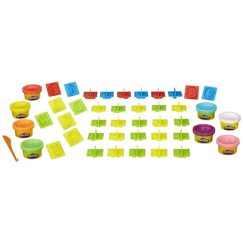 Hasbro Play-Doh Numbers,Letters' N Fun 35 Pieces