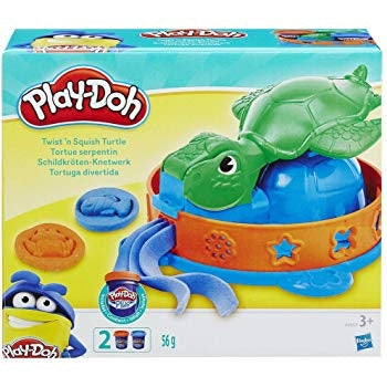 Hasbro Play-Doh Twist-n-Squish Turtle Playset