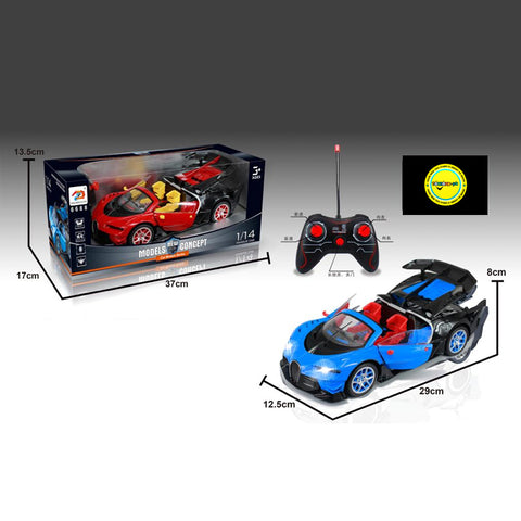 Remote Control Bugatti Racing Car