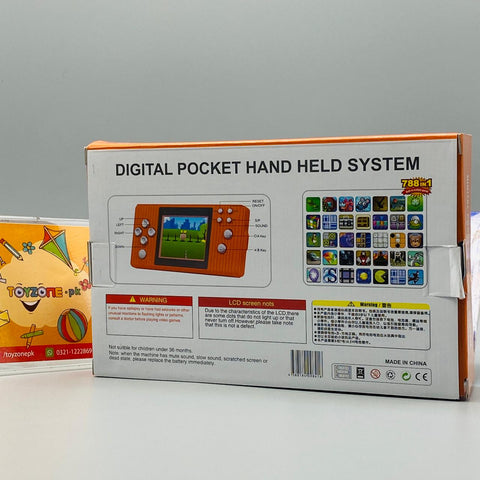 788 in 1 Digital Hand Held Game - TZP1