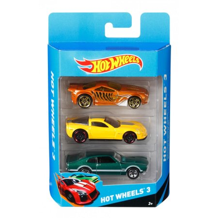 Image of Hot Wheels 3 Die-Cast Car Gift Pack--K5904