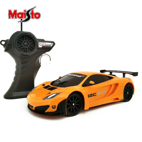 Image of Maisto Race Maclaren MP4-12C Rc Car 1:24 Scale-YT-81145