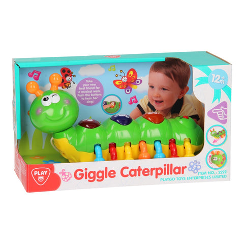 Image of PlayGo Giggle Caterpillar-2222