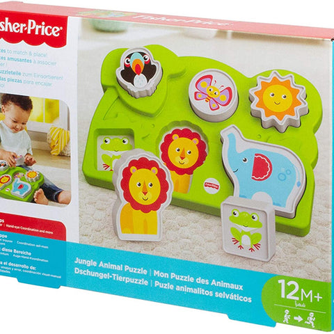Fisher-Price My Animals Jigsaw Puzzle With 6 Pieces