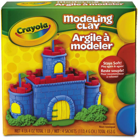 Crayola Color Reusable Modeling Clay