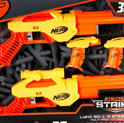 Image of Nerf Alpha Strike Lynx SD-1 Blaster Gun
