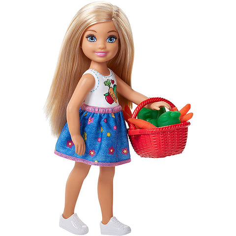 Image of Barbie Chelsea Doll and Veggie Garden Playset