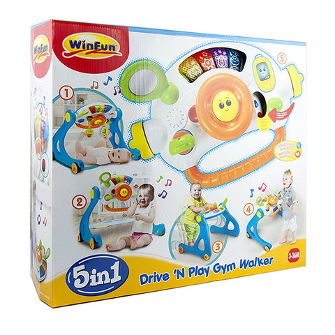 Image of WinFun - Drive N Play Gym Walker
