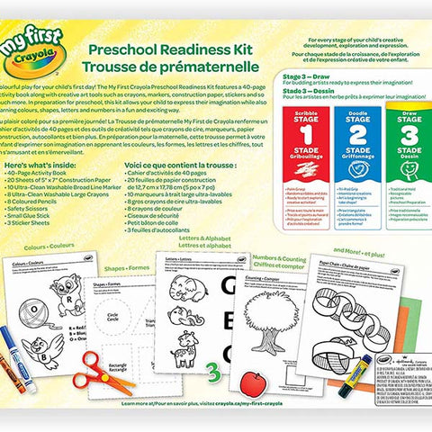 Image of Crayola My First Crayola Toys Preschool Readiness Kit