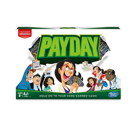 Hasbro Monopoly Pay Day Game--E0751