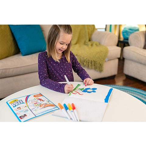 Image of Crayola Color Wonder Mess Free Paintbrush Pens & Paper, Painting for Kids