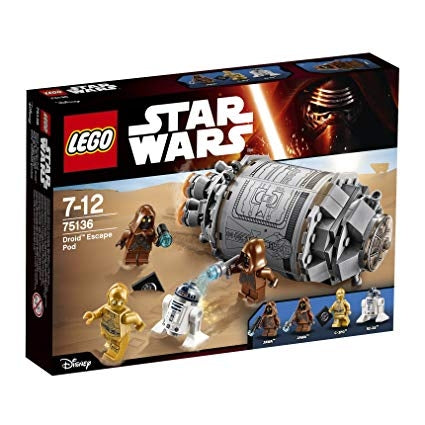 Image of LEGO Star Wars TM Droid Escape Pod Mixed-75136