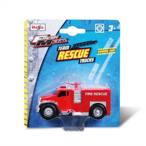 Image of Maisto Rescue Fire Truck