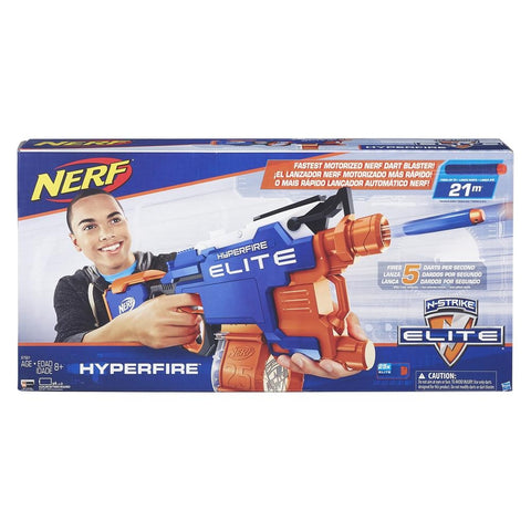 Image of Hasbro's Nerf Elite Hyperfire Darker Launcher