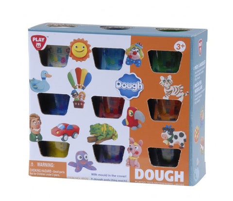 Image of Play Go 9 X 2 OZ Dough Pack 8609