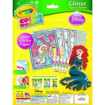 Image of Crayola | Mess Free Glitter Color Wonder