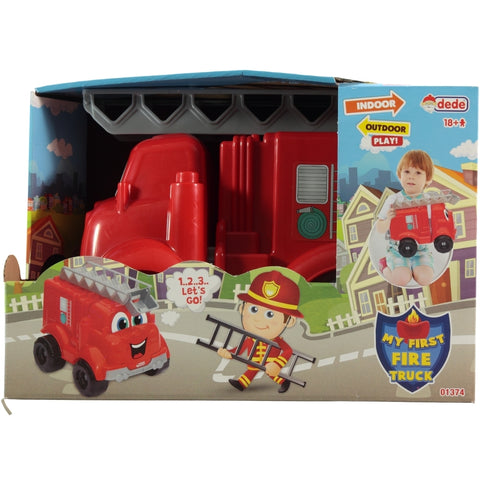 DEDE My First Fire Truck