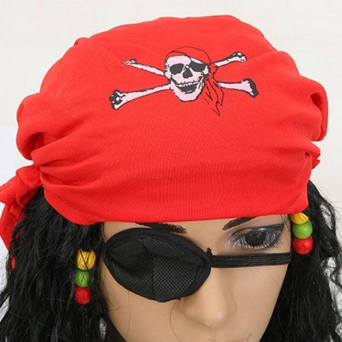 Halloween Pirates of the Caribbean Pirate Wig