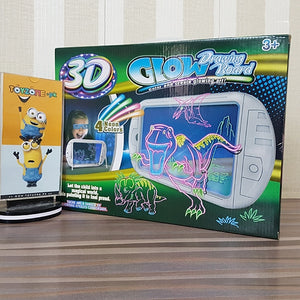 Magic 3D Drawing Board With 3D Glasses (Dino)