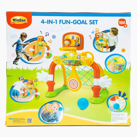 Image of WinFun 4-in-1 Goal Set