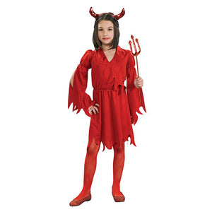 Halloween Devil Girl costume-A0020