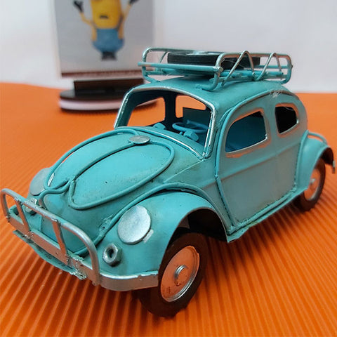 Image of Metal Hand Made - Volkswagen Beetle