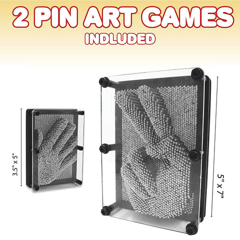 Pin Art 3D Pin Sculpture