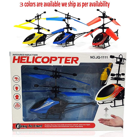 Infrared Hand Sensor Induction Helicopter