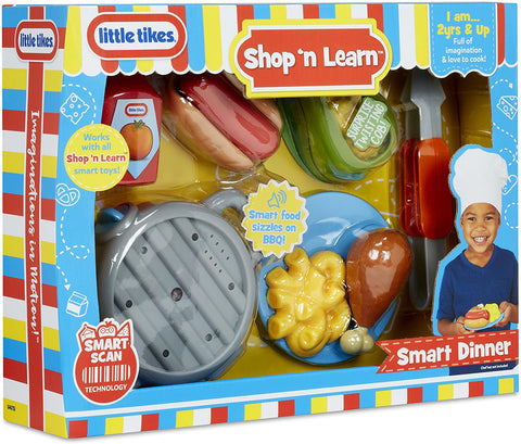 Image of Little Tikes Shop 'N Learn Dinner Set