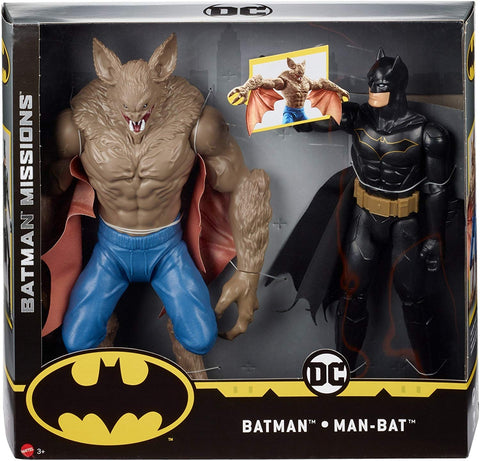Hasbro Batman Missions Versus Man-Bat Figures 2-Pack