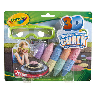 Crayola 3D Chalk Pavement-513505
