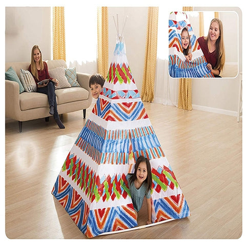 Image of Intex Tent – Teepee Tent with Door and Window-48629