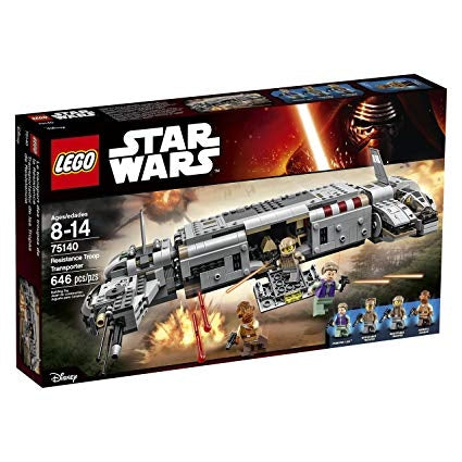 Image of LEGO Star Wars Resistance Troop Transporter