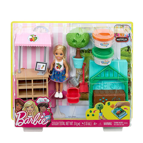 Image of Barbie Chelsea Doll and Veggie Garden Playset--FRH75