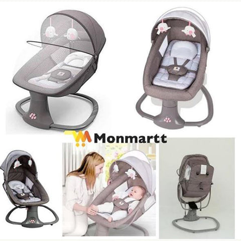 Mastela 3-in-1 Deluxe Multi-Functional Bassinet Swing
