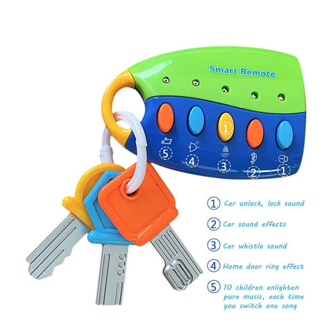 Musical and Interactive Car Keys