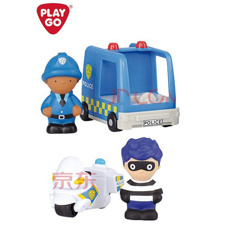 Image of Playgo Police Patrol Chase Set